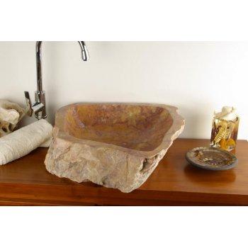 Umyvadlo z přírodního kamene SAVONA