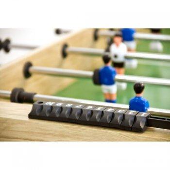 Stolní fotbal fotbálek BELFAST 121 x 101 x 79 cm -  světlé dřevo