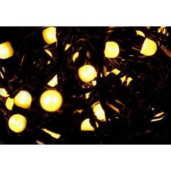 Vánoční LED osvětlení 20 m - teple bílá, 200 MAXI LED diod D28572