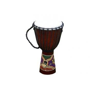 Africký buben Djembe - 70 cm - ručně řezaný