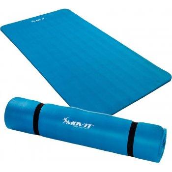 Podložka na jógu MOVIT 190 x 100 x 1,5 cm modrá M01976