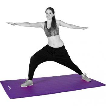 Podložka na jógu MOVIT 190 x 60 x 1,5 cm fialová M02308