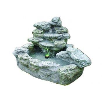 Zahradní kašna - fontána s tajemným světlem D00918