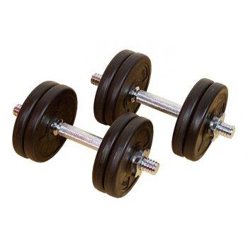 Profi set 2 činky 7,5 kg 35,5 cm D00012
