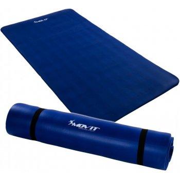 Jóga podložka na cvičení MOVIT 190 x 100 x 1,5 cm - královská modrá M09615