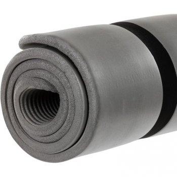 Jóga podložka na cvičení MOVIT 190 x 100 x 1,5 cm šedá