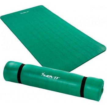 Podložka na jógu MOVIT 190 x 100 x 1,5 cm zelená M09613