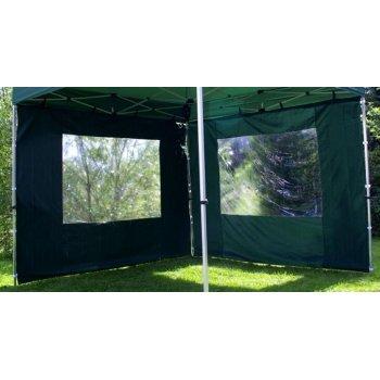 Sada 2 bočních stěn pro PROFI zahradní stan 3 x 3 m - zelená D00428