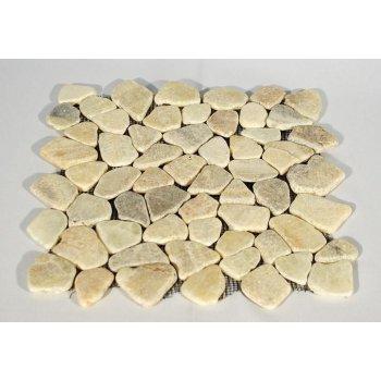 Mozaika říční kámen - krémová obklady 1ks Garth