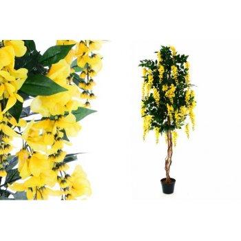 Umělá květina - zlatý déšť - 190 cm
