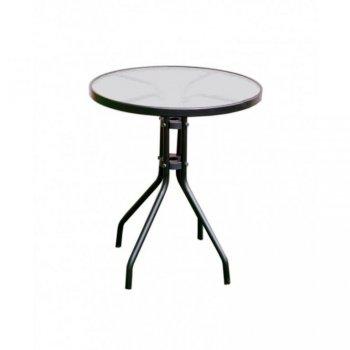 Zahradní stůl se skleněnou deskou ZWT-03 o 60cm R07167