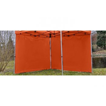 Sada 2 bočních stěn pro PROFI zahradní stan 3 x 3 m - terakota D00430