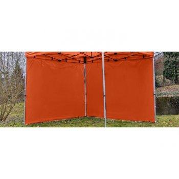 Sada 2 bočních stěn pro PROFI zahradní stan 3 x 3 m - terakota