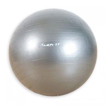 Gymnastický míč Movit stříbrný 65 cm M01988