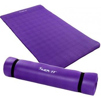 Podložka na jógu MOVIT 190 x 100 x 1,5 cm fialová M30635