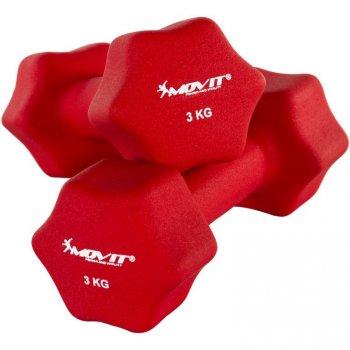 Set 2 činek s neoprenovým potahem 3 kg MOVIT M29321