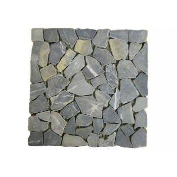 Mramorová mozaika Garth- šedá, obklady 1 ks