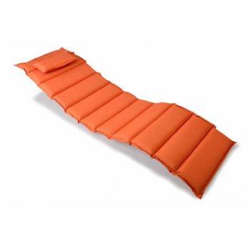 Polstrování na lehátko Garthen - oranžová