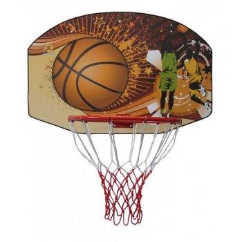 Basketbalová deska 90 x 60 cm s košem AC05281
