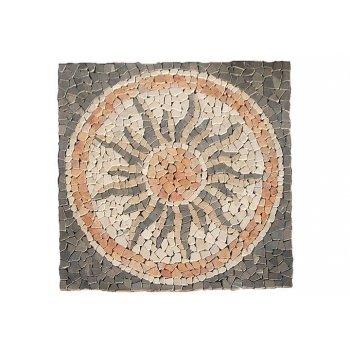 Mramorová mozaika - motiv slunce obklady 1m2 D00765