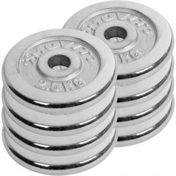 Činkový set chrom 30 kg MOVIT