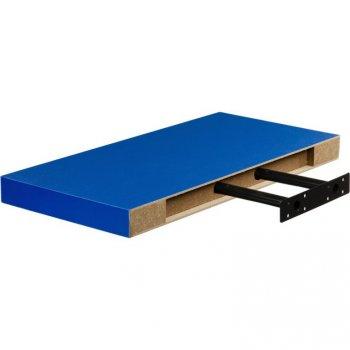 Nástěnná police STILISTA VOLATO - modrá 110 cm