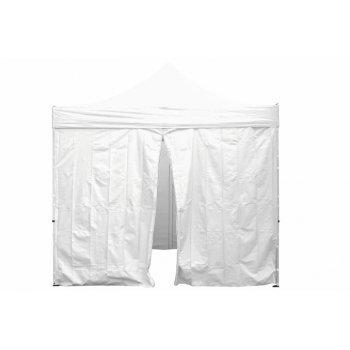 Sada 2 bočních stěn pro PROFI zahradní stan 3 x3 m bílá