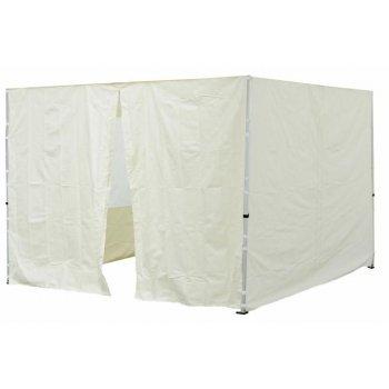 Sada 2 bočních stěn pro PROFI zahradní stan 3 x3 m champagner D30696