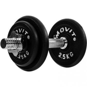 Jednoruční litinová činka MOVIT 10 kg M29353