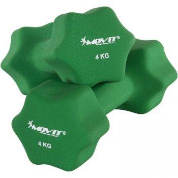 Set 2 činek s neoprenovým potahem 4 kg MOVIT M29322