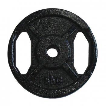 Posilovací kotouč litina 5 kg 25 mm s ručními úchopy AC29952