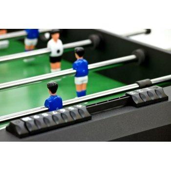 Stolní fotbal fotbálek rozkládací Belfast 121 x  101 x  79 cm - černý
