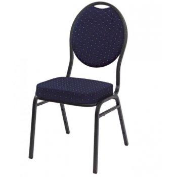 Kvalitní židle kovová Monza - modrá ABC01147