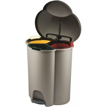 Koš odpadkový TRIO na tříděný odpad CURVER R31336