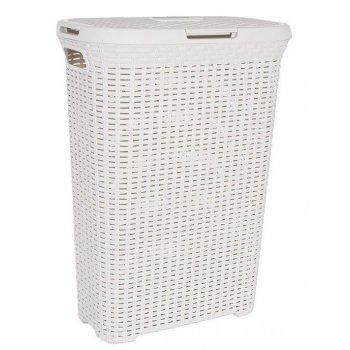 Koš na prádlo STYLE RATTAN 40 l krémová CURVER R30461