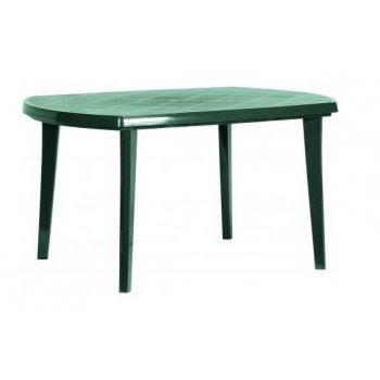 Zahradní plastový stůl ELISE zelený R06620