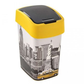FLIPBIN odpadkový koš 25l - NEW YORK CURVER R31367