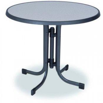 Kovový stůl PIZZARA ø 85 cm
