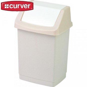 Koš odpadkový CLICK 50l - savanna CURVER
