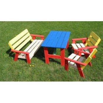 Dětský dřevěný zahradní set KASIA FSC R02752