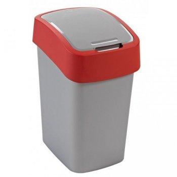 Odpadkový koš FLIPBIN 25l - červená CURVER R31355