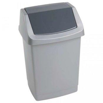 Koš odpadkový CLICK 9l - luna CURVER R31403