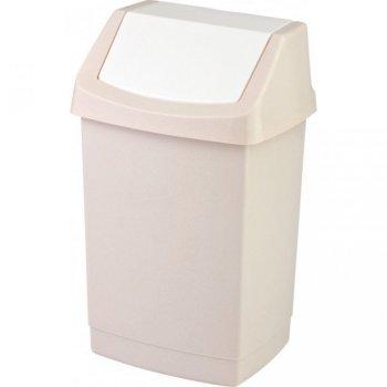 Koš odpadkový 15l CLICK - savana CURVER R31406