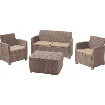 Zahradní set CORONA set+BOX cappucino R06722