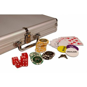 Poker set 1000 ks žetonů OCEAN hodnoty 5 - 1000