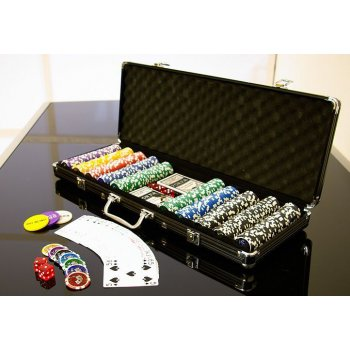 Poker set 500 ks 5-1000 OCEAN BLACK EDITION D00499