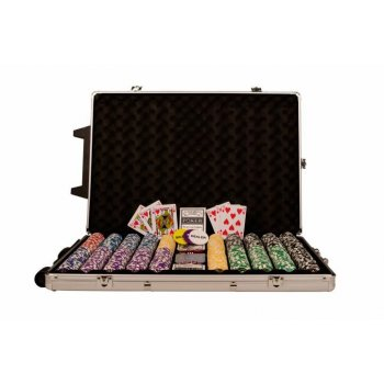 Poker set 1000 ks žetonů OCEAN Trolley CHAMPION CHIP D00496