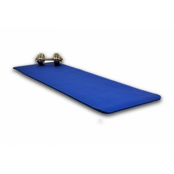 Gymnastická podložka 190 x 60 x 1,5 cm - modrá