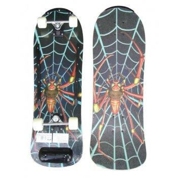 Skateboard barevný dřevěná