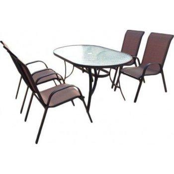 SET zahradního nábytku Nerang - Bronz Design S09399